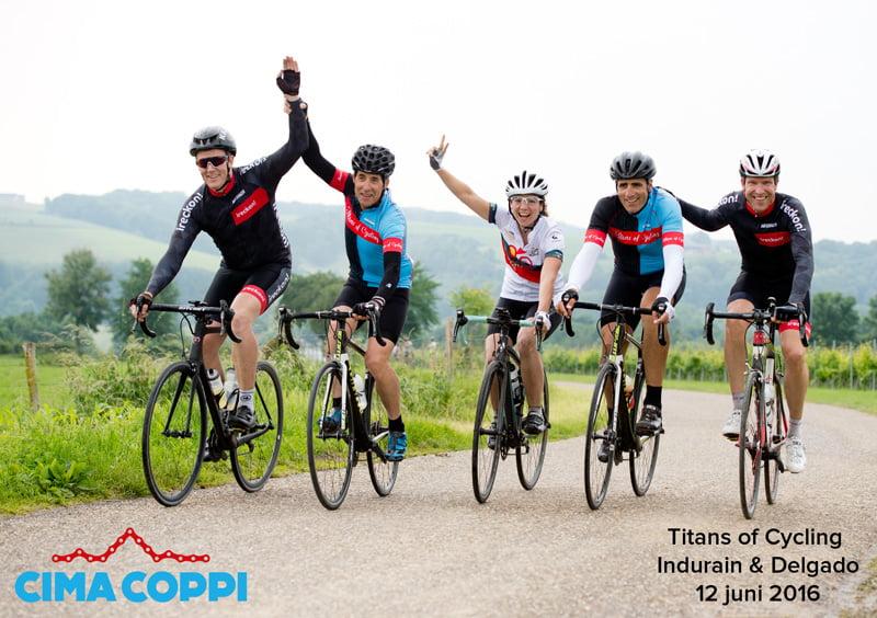 Fotoafdruk Cima Coppi - Toertocht met Indurain en Delgado