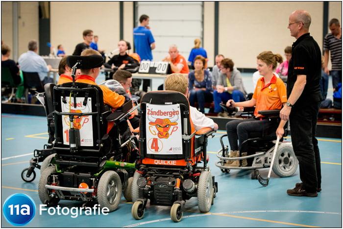 GB Bulls - Rolstoelhockey wedstrijd in Driebergen