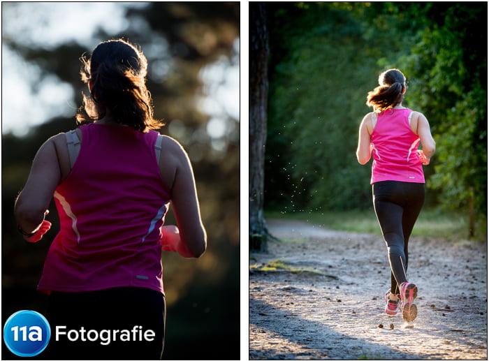 Sportfotoshoot Hardlopen van Sara Terburg in Vught