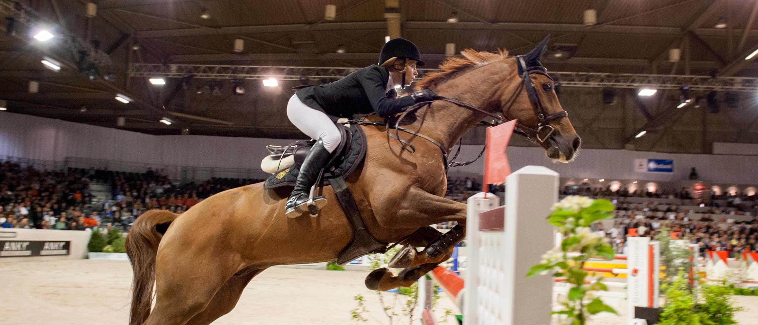 Paardenfotografie Springen
