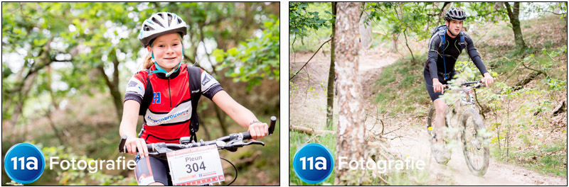 Sportfotografie Mountainbike Marathon in Drunense Duinen