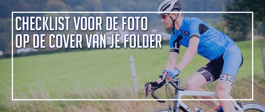 Checklist voor de cover van je folder