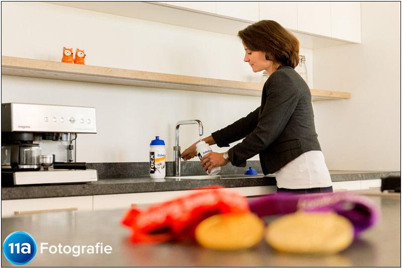 Fotoreportage van de keuken van Marianne Vos