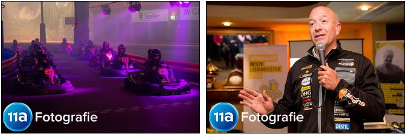 Jaaroverzicht 2015: Evenementenfotografie in Kartcentrum van Tim en Tom Coronel