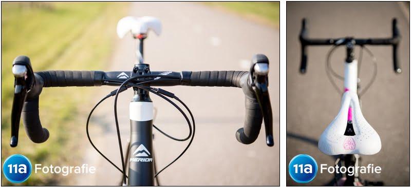 Merida Ride 400 - Het stuur en gepersonaliseerde zadel-keuze