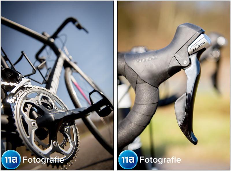 Merida Ride 400 - Creatief met standpunten en details van de shifters