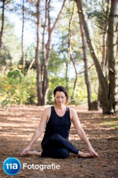 Yoga fotografie Den Bosch