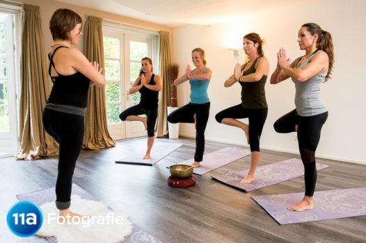 Dream Yoga reclamefotoshoot in Nijmegen