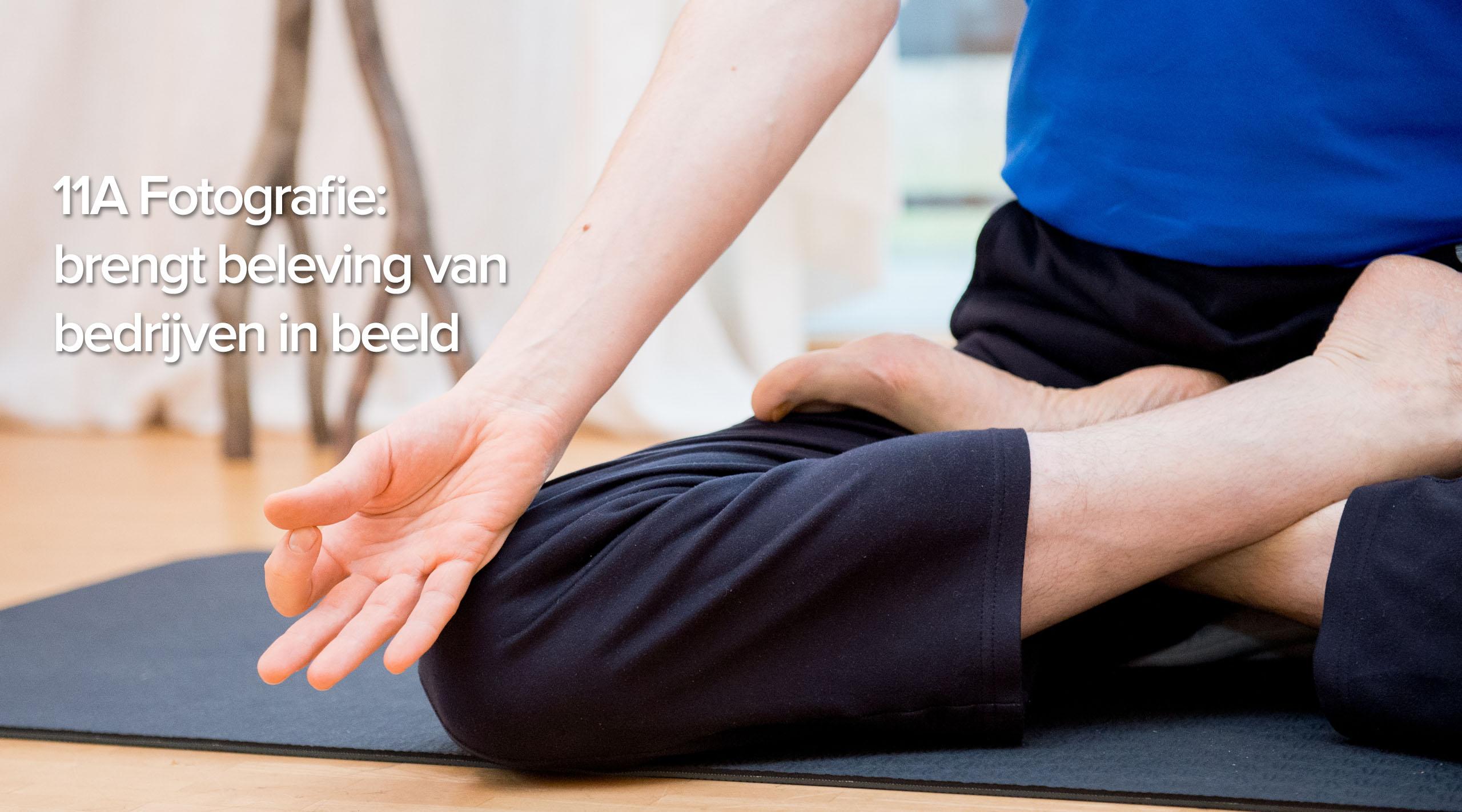Zakelijke Yoga fotografie
