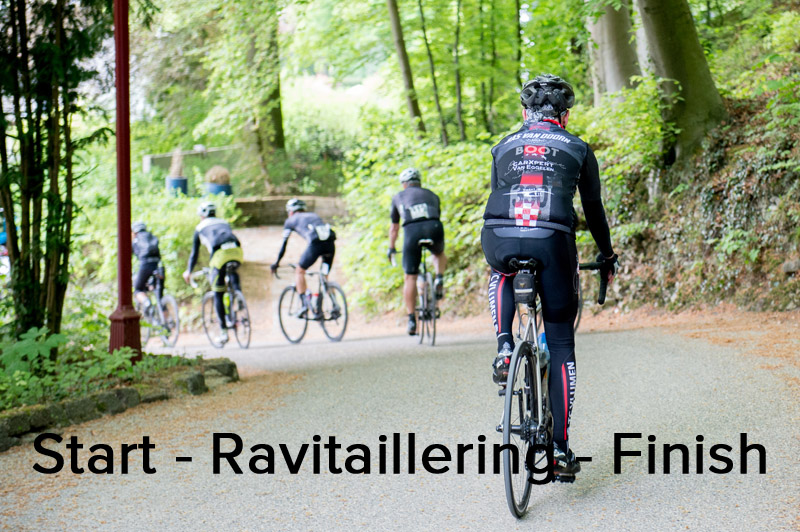 Foto's Steven Rooks Challenge - Start - Ravitaillering - Finish