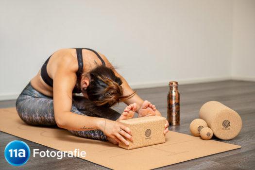 Yoga fotoshoot Nijmegen