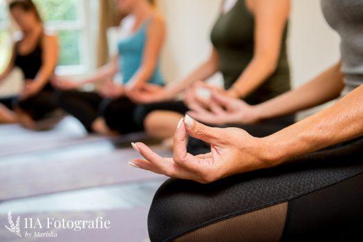 Yoga foto - Detailfoto van handen